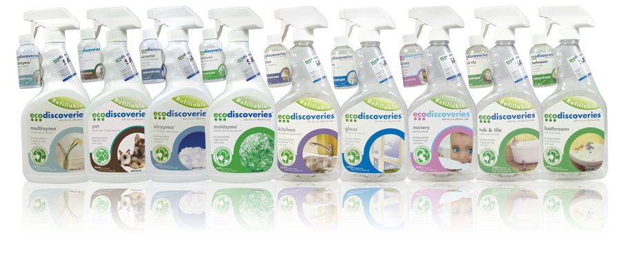 Eco-Friendly, Green Cleaning Products - VIEW ALL PRODUCTS